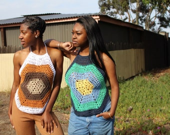 The Hexi Crochet Top