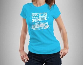 Star Trek Damn It Jim Women's T-Shirt
