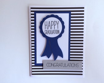 Award Graduation Card, Cute Graduation Card, Handmade Graduation Card, Congratulations Graduate, Happy Graduation, High School Graduate