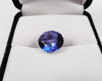 Tanzanite.  1.98ct., 7.5mm Round Loose Natural Gemstone
