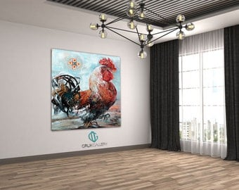 """Print of an Artwork Titled: """"Jacques de Molay"""", High Quality Canvas"""