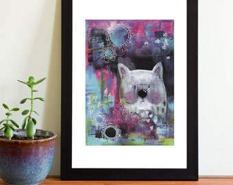 The Night Sky A4 print