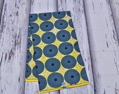 Yellow and Grey Quality African Textile 6 yards / African Fabric Shop / Ankara fabric / African fabric Supplies / Wax print / FAJ010B