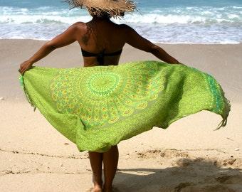 SALE!! Pareos/Beach Sarongs/Scarves/Shawl fringes/Beach cover up/Canga sarong/wrap/Swimsuit coverup * BOHO SARONG