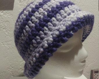 Purple Stripes Hat