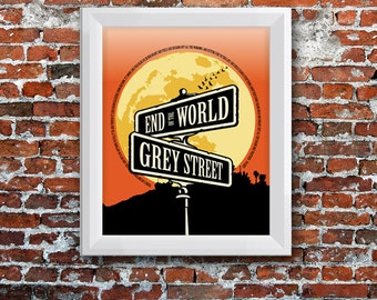 Grey Street Poster - Dave Matthews Band