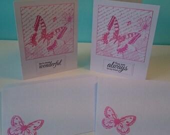 Butterfly - card