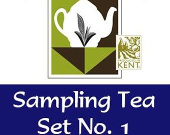Sampling Tea Set No. 1 –  Classic Collection - Tea Gift - Tea Sample - English Tea - Tea Gift - Tea Sampler - Loose Leaf Tea - Tea