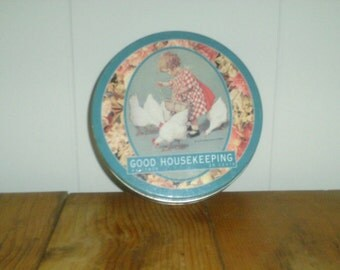 "Vintage ""Good Housekeeping"" Collectible Tin"