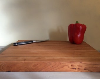 Handmade Cherry Cutting Board