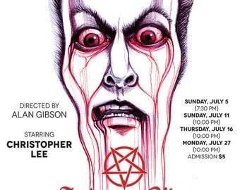 Satanic Rites of Dracula Poster