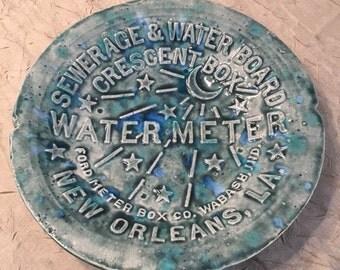 New Orleans Water Meter Bowl
