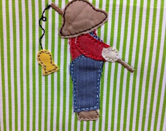 ITH Maw's Overall Sam Raggy Applique DIGITAL Embroidery Design