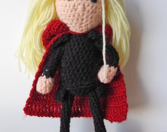 Celeana Sardothien Amigurumi Crochet Doll Pattern
