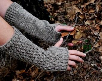 Lace Fingerless Gloves, Outlander Fingerless Gloves, Girl gift,  Armwarmer, Made in USA - Ready to SHlP