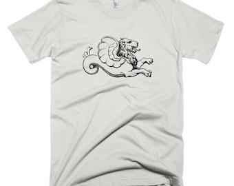 Vintage Lion Serpent Tshirt