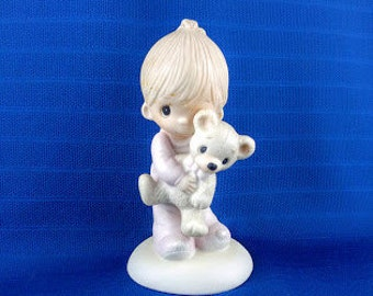 Jesus Loves Me Precious Moments Figurines