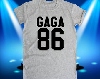 Lady Gaga shirt, DOB, trending, items, now, birth date, tumbler, tumblr, gifts, text shirt, tshirt, tee