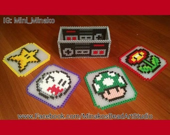 Mario Coaster set w/Coaster Box