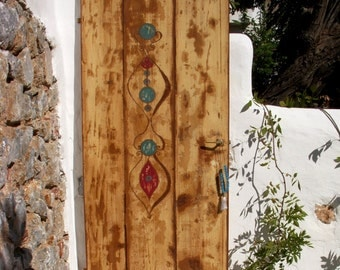 Wooden door_Hand painted