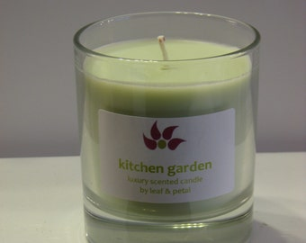 Kitchen Garden - Natural Soy Scented Candle 30cl