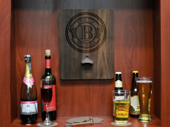 Custom Wood Bottle Opener Board Custom Beer Bottle Opener