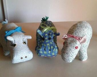 Hippo Stuffed Plush