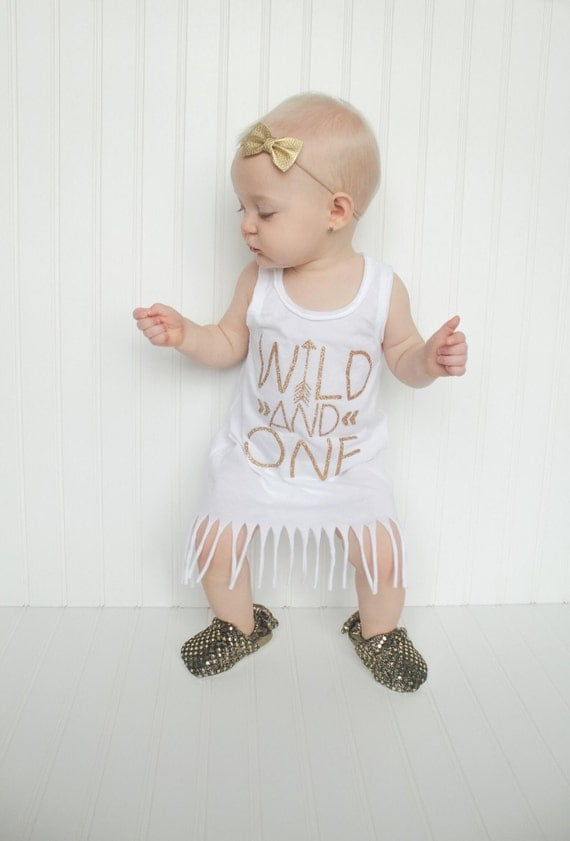 First Birthday Outfit Girl Birthday Dress Wild And One
