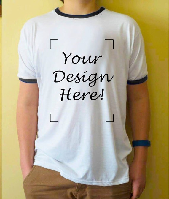 custom design t shirt make your own style tshirt white