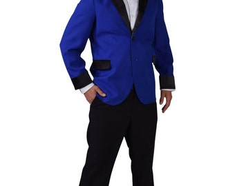 Teddy Boy Jacket - Blue