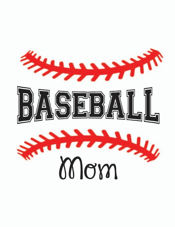 Baseball Mom Svg Baseball Stitching T Shirt Design