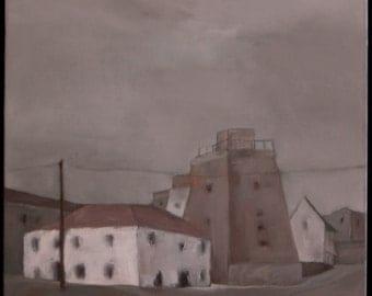 Original oil painting 60 cm x 60 cm canvas