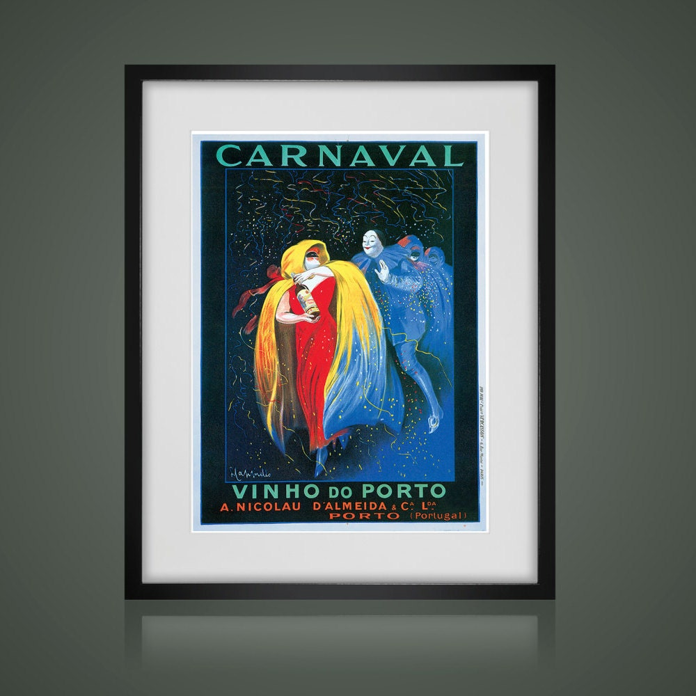 FRAMED WALL ART, Vintage Advertising Poster, Matted And Framed Art Print,  Gallery Wall Art, Black Or White Frames