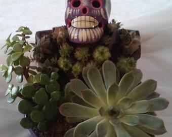 "Dia de Muertos  ""Day of the dead"" planter"