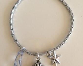 Braided bracelet Cinderella