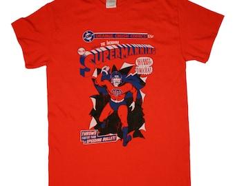 Denver Broncos - Shirt - SUPERMANNING! - Peyton Manning