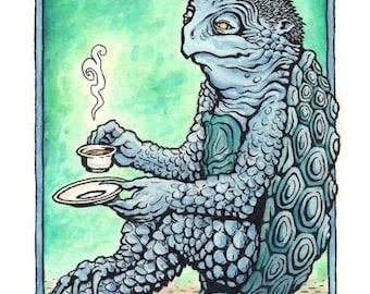 Kappa Tea -- Print
