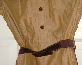 Vintage Brownie Uniform with Belt