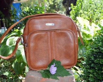 Vintage Travel bag Carry on bag Overnight bag Weekender bag Weekender bag Messenger bag Laptop bag Vintage leather bag Office bag