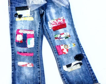 Retro Custom Denim Jeans