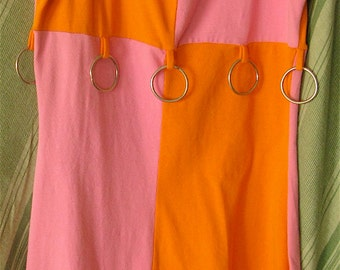 Pink and Orange Tripp NYC 80s/90s Rave Dress