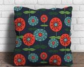 Vintage Blossom Blue cushion