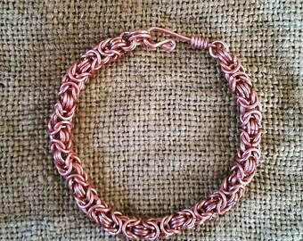 Byzantine chainmail bracelet