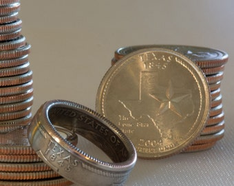 Texas State Coin Ring