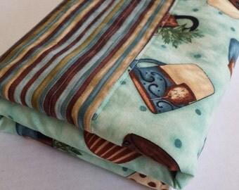 Dish Drying Mat-Tea Time Fabric