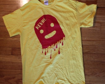Yellow/Red Drip Medium Kevin shirt