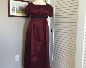 Jane Austen Regency Gown by Iblamejanetoo - size 16