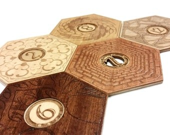 Settlers of Catan Coaster set
