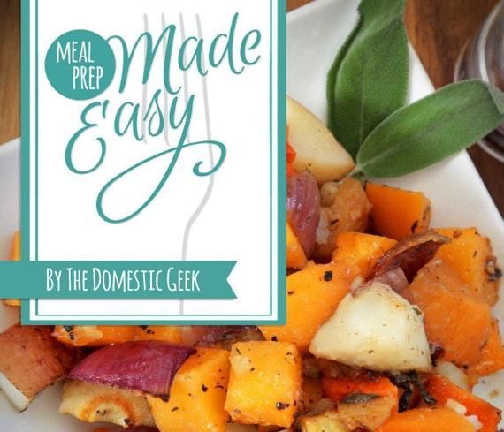 NEW Meal Prep Made Easy eBook - MENUS 13-18