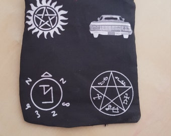 Supernatural Small Zippered Pouch